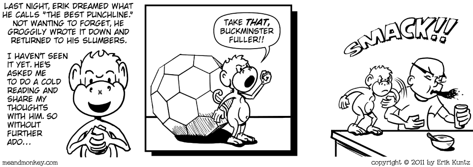 buckyballs monkey comic